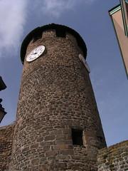 20080516 23645 0906 Jakobus Montbrison Turm Uhr - Photo of Essertines-en-Châtelneuf
