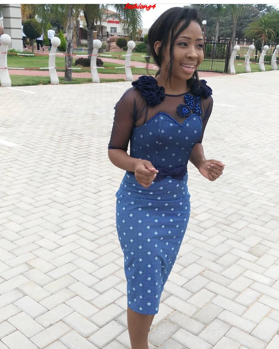 Shweshwe Dresses 2019 Part 1