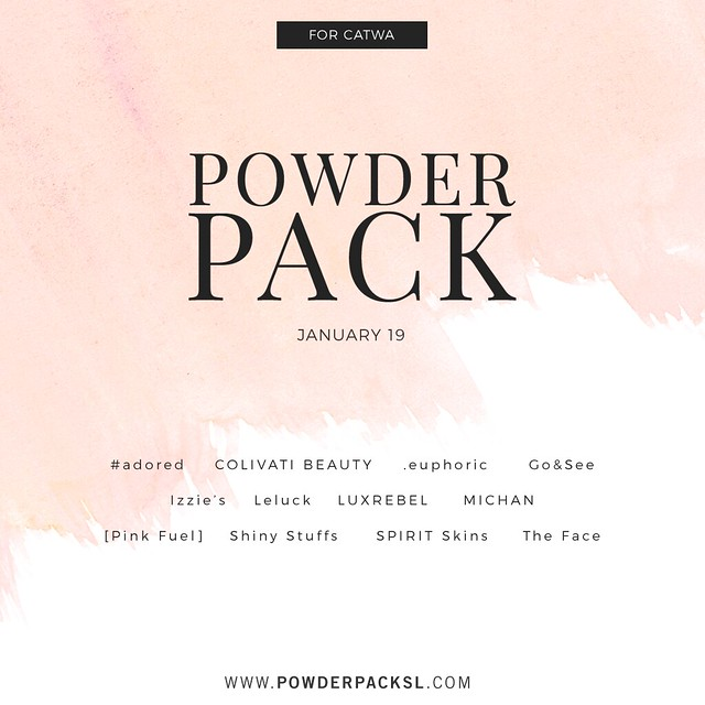 POWDER PACK CATWA January 2019