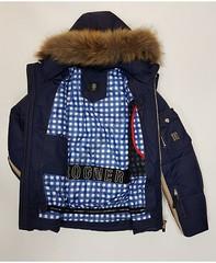 Горнолыжная мужская куртка Bogner 6818 -35 °C (темно синий) пуховик