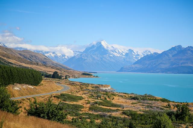 Lake Pukaki and Mount Cook