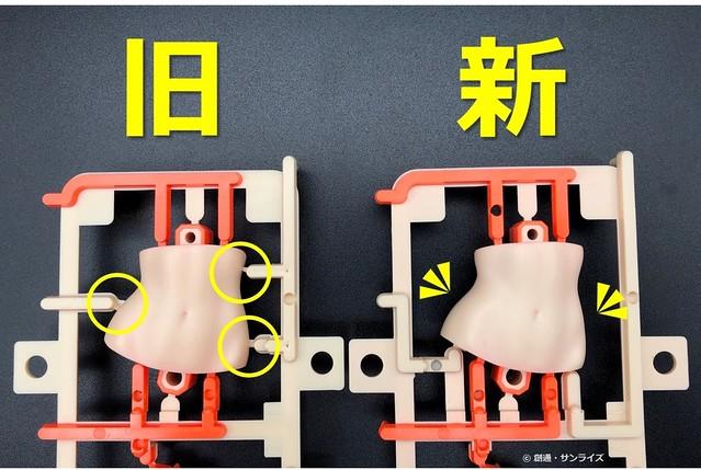 【更新官圖&販售資訊】細節精度、成形安定度改良!Figure-rise LABO《鋼彈創鬥者TRY》星野文奈(ホシノ・フミナ)【The Second Scene】組裝模型