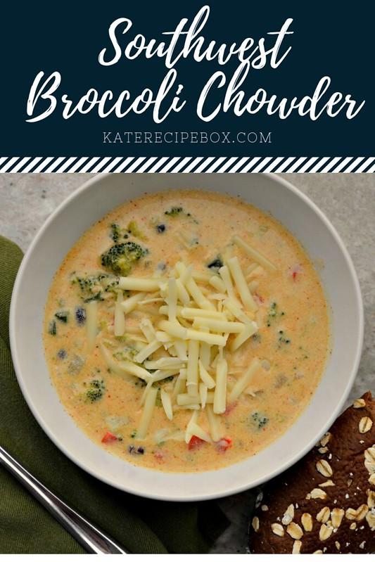 Southwest Broccoli Chowder