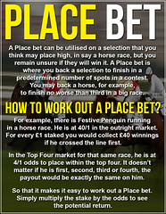 How To Work Out A Place Bet - Place Betting Explained