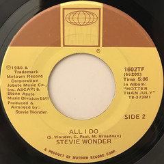 STEVIE WONDER:THAT GIRL(LABEL SIDE-B)