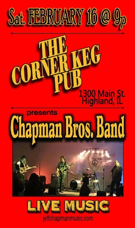 Chapman Bros Band 2-16-19