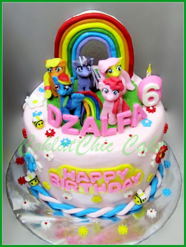 Cake My Little Pony DZALFA 18 cm