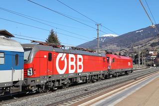 ÖBB 1293 021-2 und 1116 134-7 Stromabnehmerschaden, Matrei am Brenner