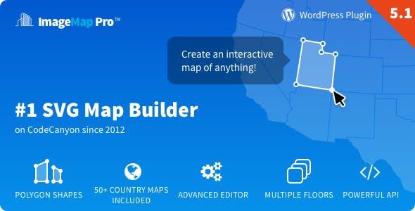 Image Map Pro for WordPress v5.1.0 - SVG Map Builder