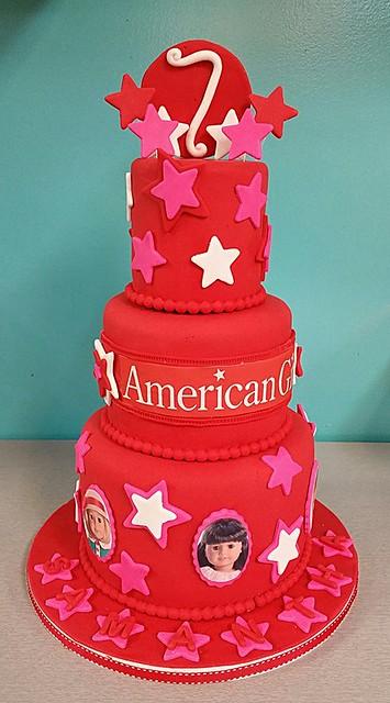 American Girl Cake by Sweetloves Cakes & Designs
