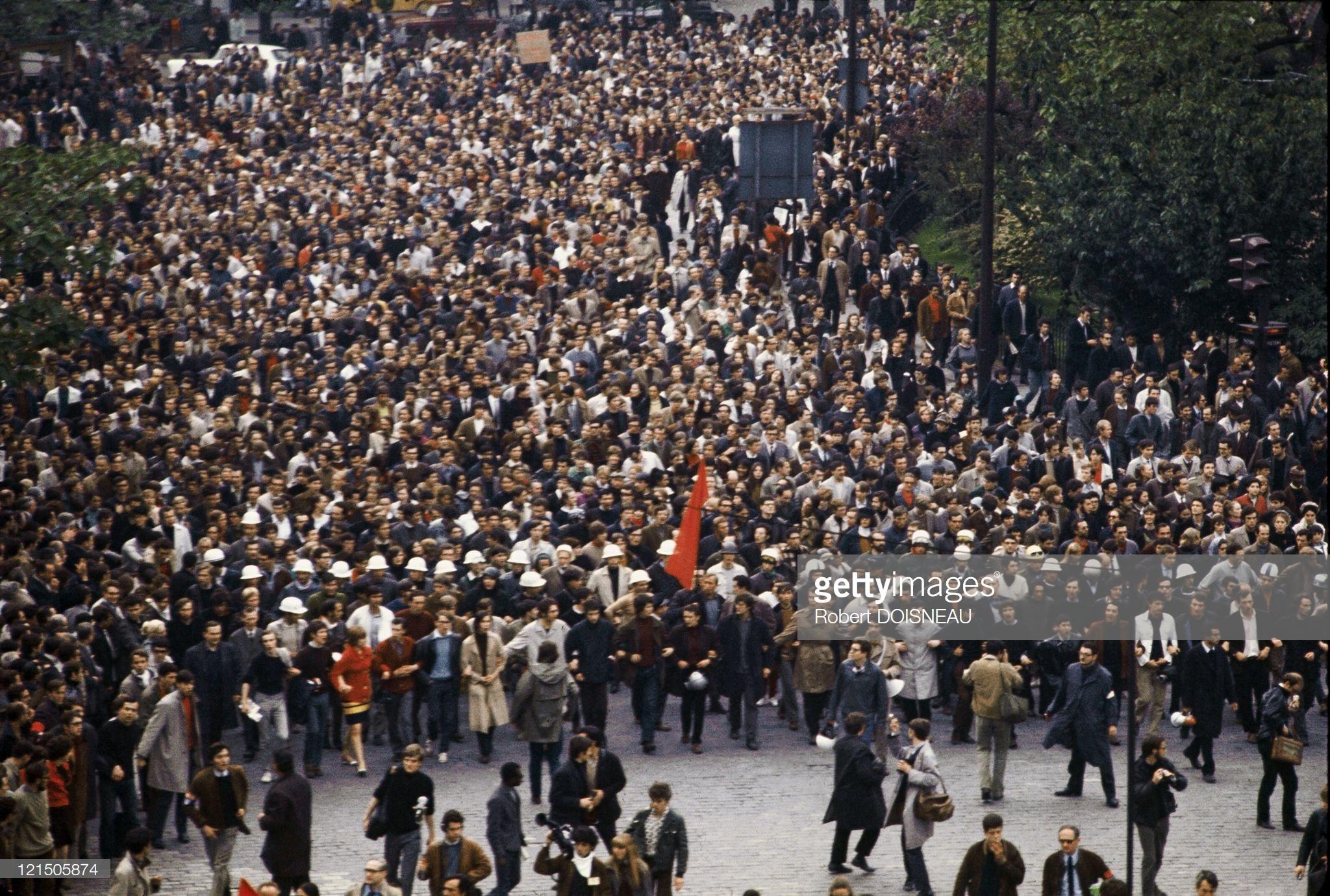 1968. Первомайская демонстрация