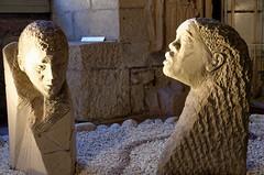 Sculpture homme et femme
