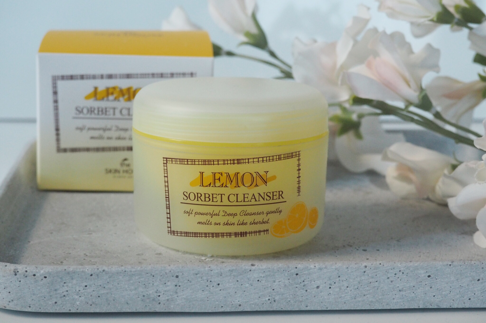 lemon sorbet cleanser