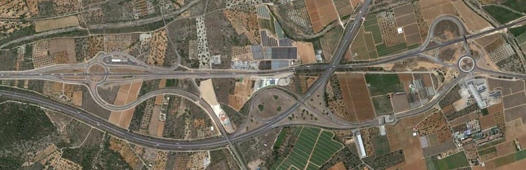 entrada a peñíscola, N-340, castellón, rotondismos por velocidad, después, urbanismo, planeamiento, urbano, desastre, urbanístico, construcción, rotondas, carretera
