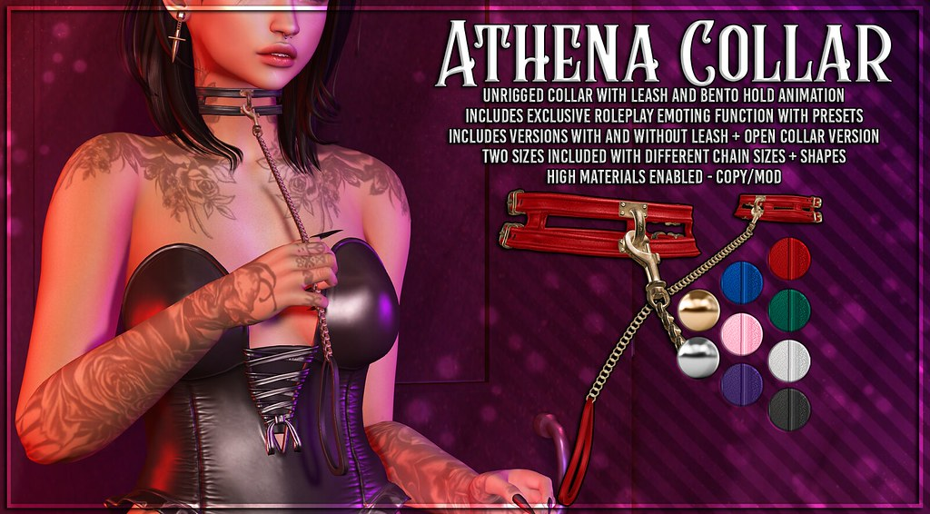 AsteroidBox. Athena Collar @ Hentai Fair