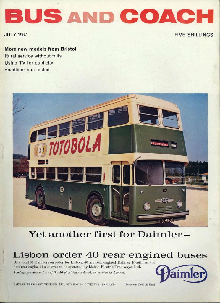 Daimler Fleetline 1X2 (A. n/ id., 1967)