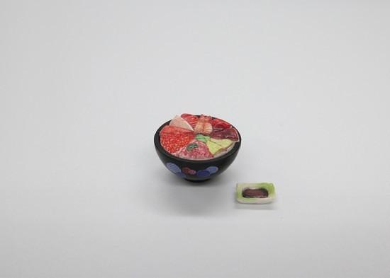 【台灣開賣!】讓你的玩具享受超擬真美食!M.I.C.『模型飯Vol.1』1/12比例塗裝完成組裝模型(フィギュアのごはん Vol.1 1/12 彩色済プラモデル)
