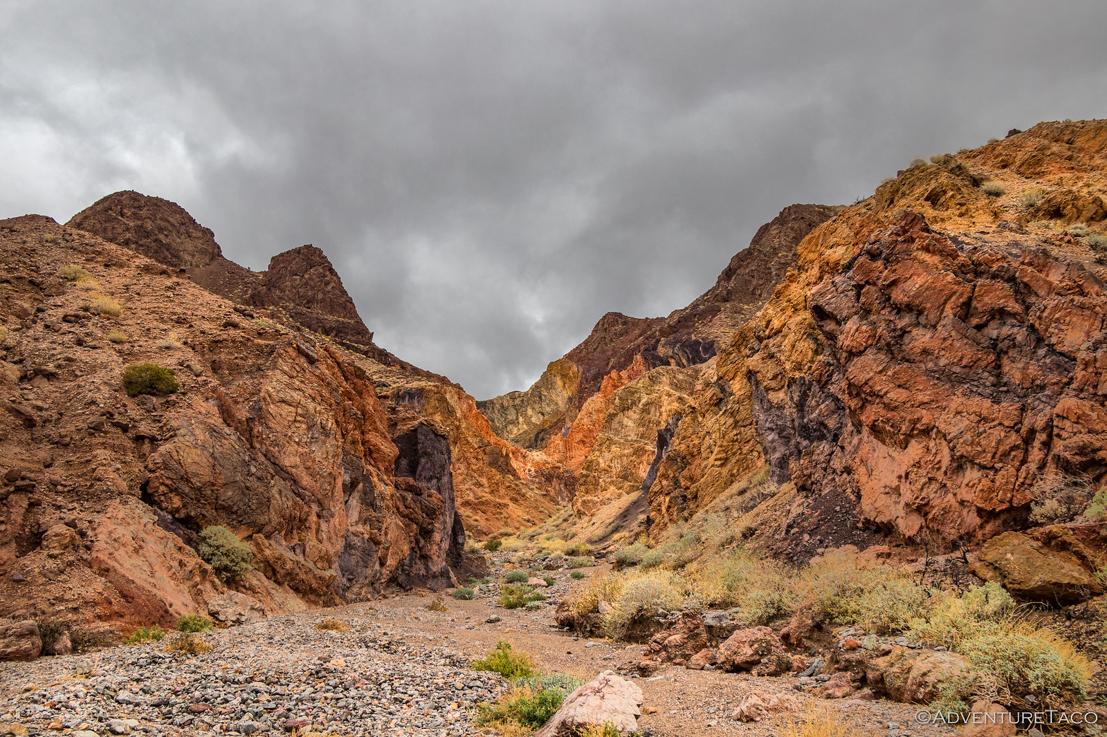 Kaleidoscope Canyon, Death Valley National Park