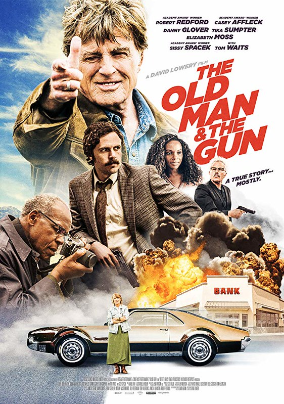 The Old Man & the Gun - Poster 4