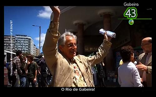 A Onda Verde Gabeira 43 - PV RJ Partido Verde candidato ao Governo do Estado do Rio de Janeiro 2010 ano também de eleição presidencial eleições estaduais presidenciais Lava-Jato ex-governador Operação Lava Jato Rio blog da jornalista Adriana Paiva