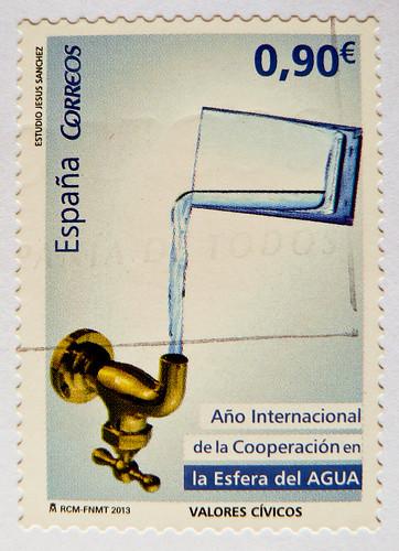 *March 22nd*World Water Day* great stamp Spain € 0,90 postes timbre Espagne sello Espana postage francobolli bollo Spagna selos Espanha 西班牙 邮票 Испания почтовая марка Briefmarken Spanien İspanya pullar Hiszpania stamps スペイン スタンプ 西班牙 邮票 poštanske marke Špan