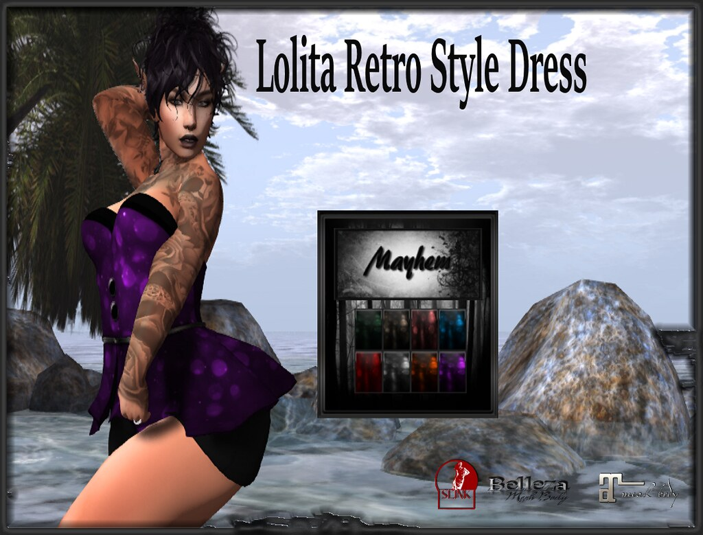Mayhem Retro Lolita Dress AD