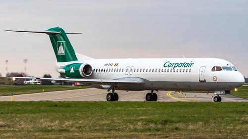 Fokker F100 YR-FKA Carpatair
