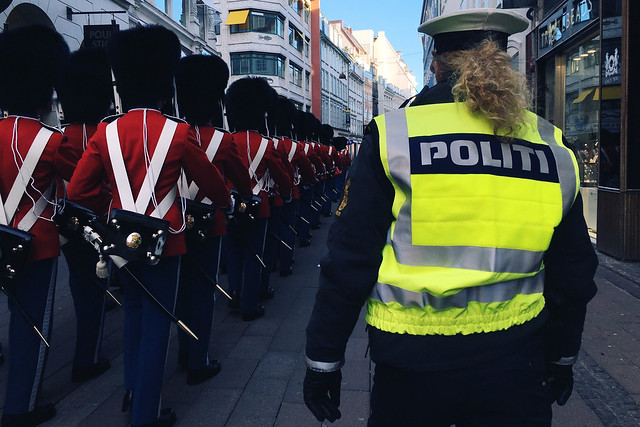The Danish Royal Guard, Copenhagen