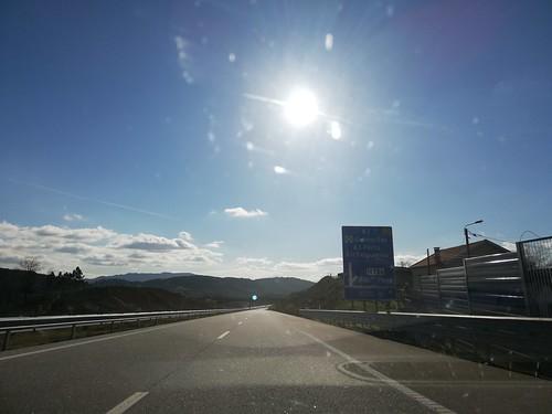 A7 - saída Ribeira de Pena