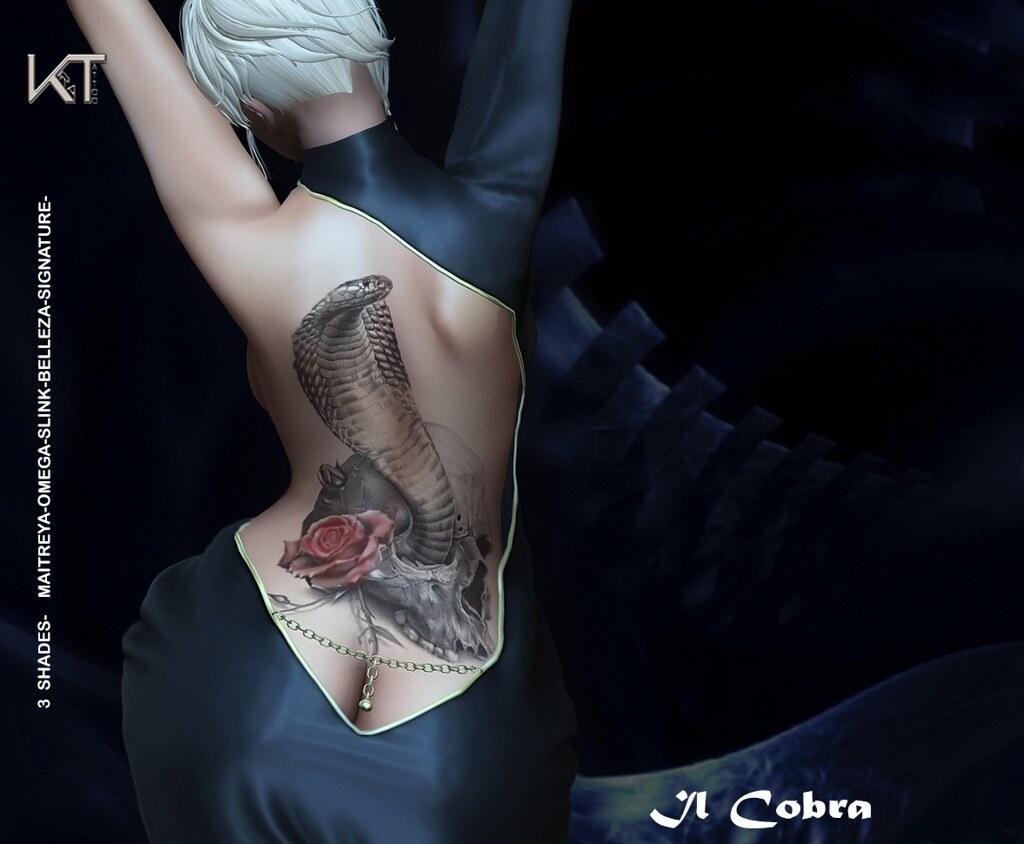 EXCLUSIVE TATTOO-IL COBRA - TeleportHub.com Live!