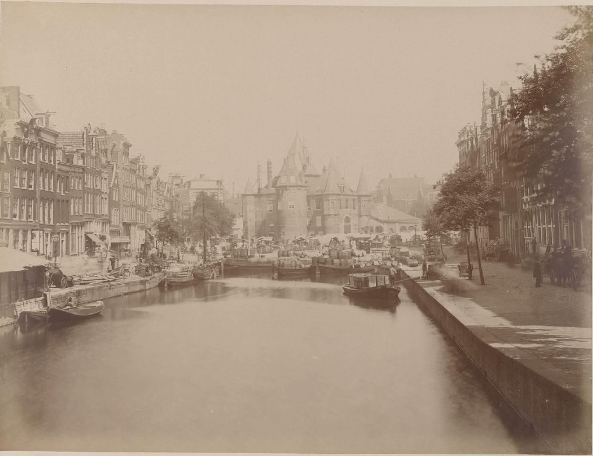 Амстердам. Новый рынок, 15 мая 1888