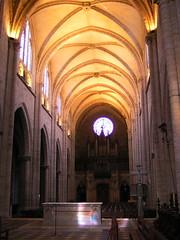 20080516 23618 0906 Jakobus Montbrison Kirche Gewölbe Altar - Photo of Chalain-d'Uzore