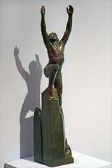 Wilbur Wright de Paul Landowski (Saint-Quentin, France)