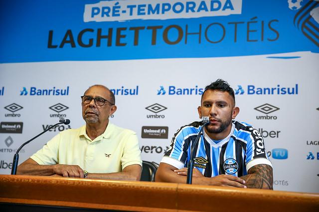 Apresentação Walter Montoya no Grêmio