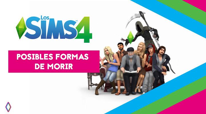 Los Sims 4: Posibles formas de morir
