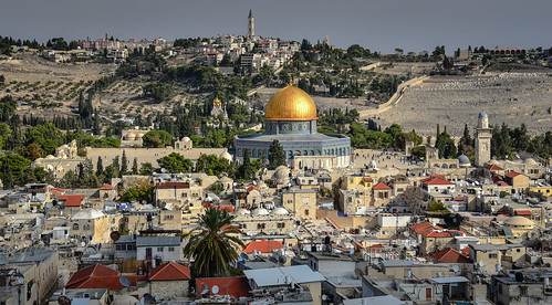 2018 temple mount dome rock viewed from bell tower church redeemer old city jerusalem israel jerusalemdistrict il jlm middleeast middle east altstadt historic ancient יְרוּשָׁלַיִם golden