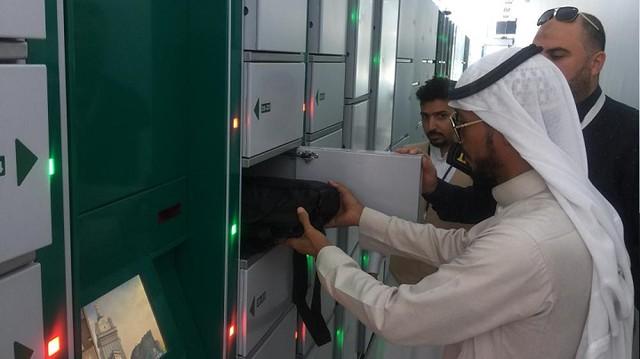 5045 How to use luggage locker service outside Masjid-al-Haram 04