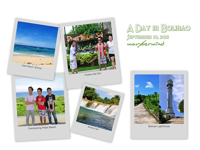 A Day in Bolinao