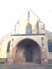 L'église St Nicolas de l'extérieur