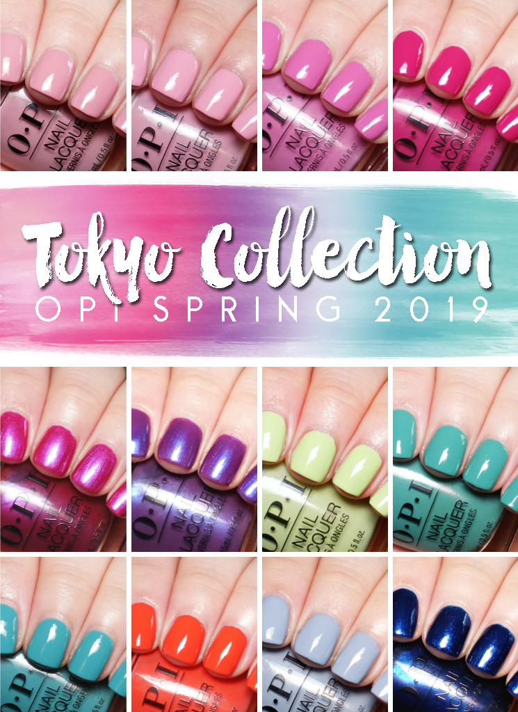 opi tokyo collection spring 2019