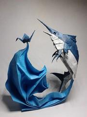 Origami Marlín