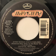 CRYSTAL WATERS:GYPSY WOMAN(LABEL SIDE-B)