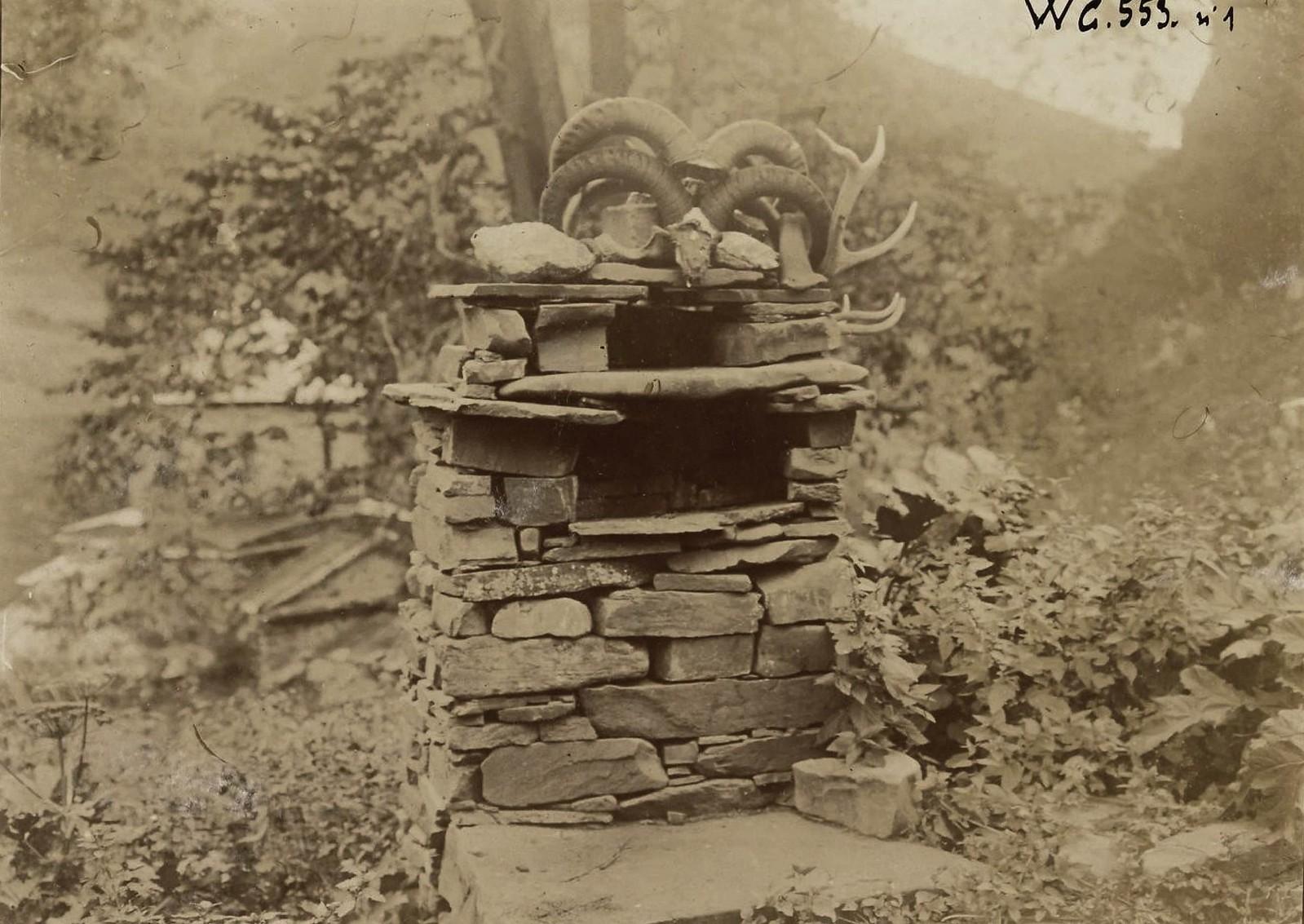 1880-е. Осетия и Карсская область от барона Жозефа де Бая