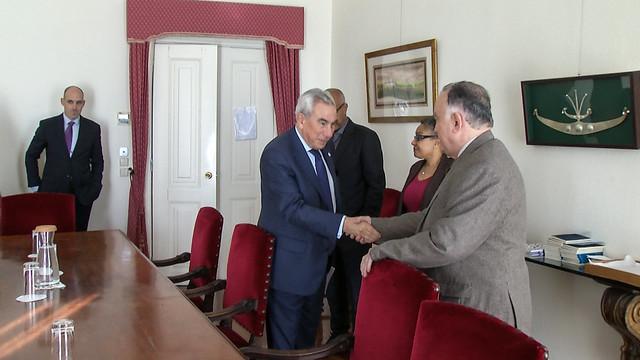 19.03. Secretário Executivo recebe Presidente do CIICLAA