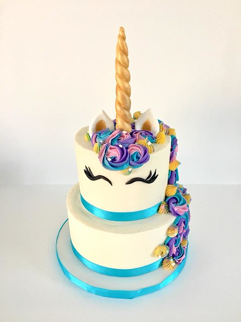 Unicorn Cake by Pretty Little Bakery