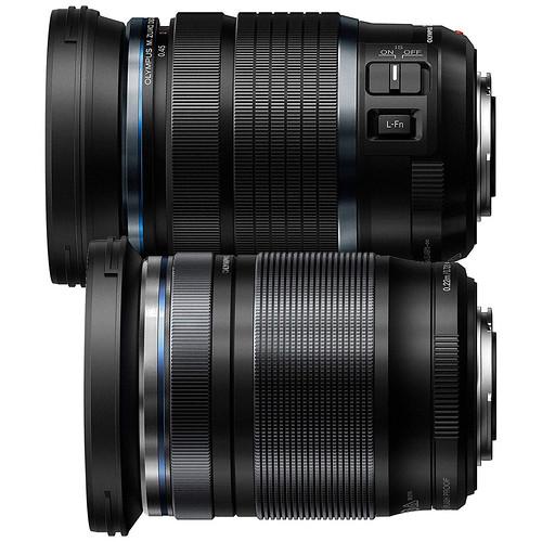ED12-200mmF3.5-6.3 と ED12-100mmF4