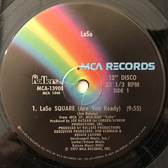 LASO:LASO SQUARE(ARE YOU READY)(LABEL SIDE-A)