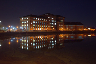 Preston Dock offices | by Tony Worrall