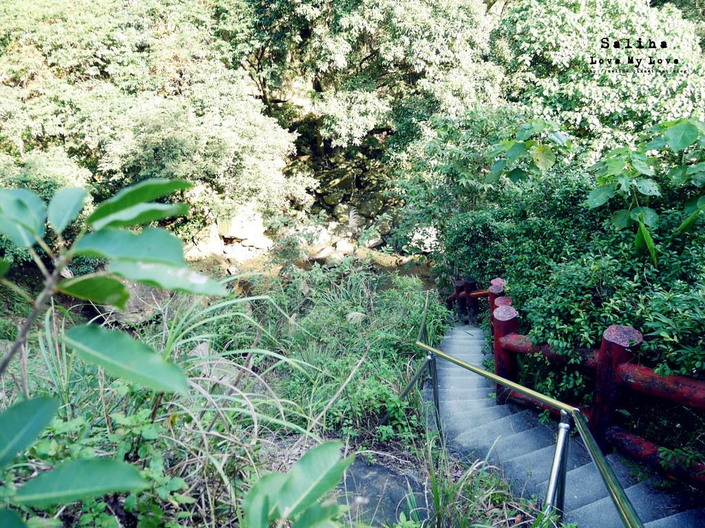 宜蘭礁溪旅遊景點秘境猴洞坑瀑布停留時間 (2)