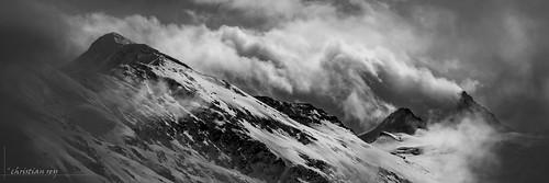 Tempête sur les Alpes valaisannes (Switzerland)